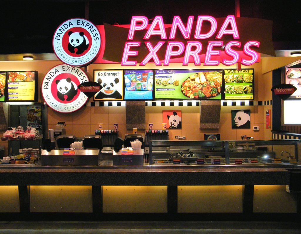 مطعم باندا إكسبرس في الرياض