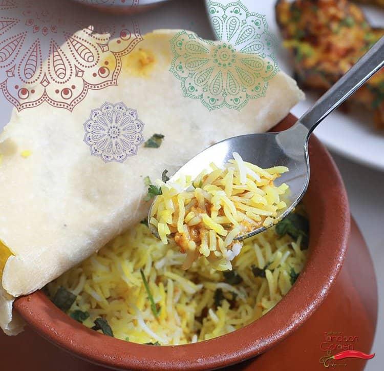 مطعم حديقة التنور في الرياض