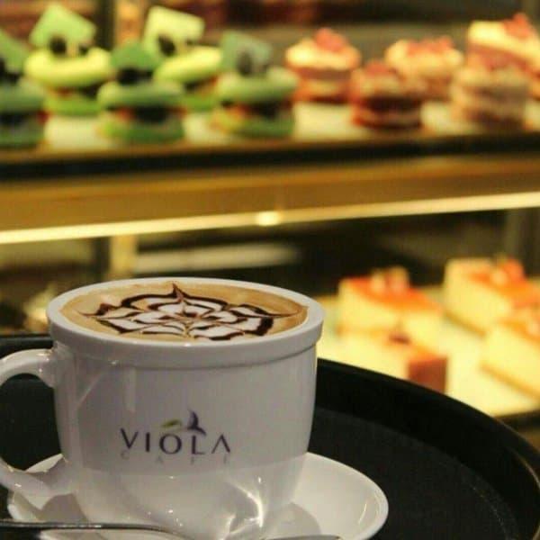 مقهى فيولا في الشرقية