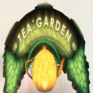 مطعم حديقة الشاي