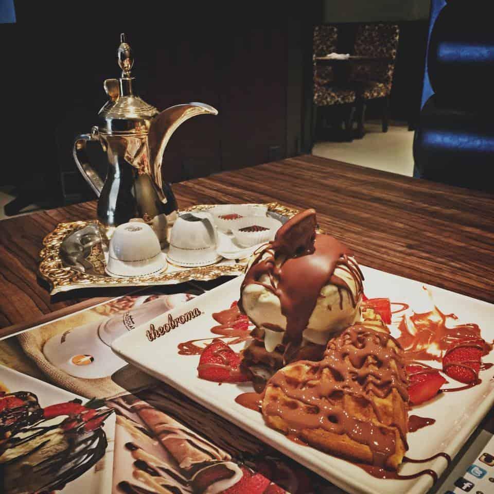 مقهى ثيوبروما شوكلت لاونج