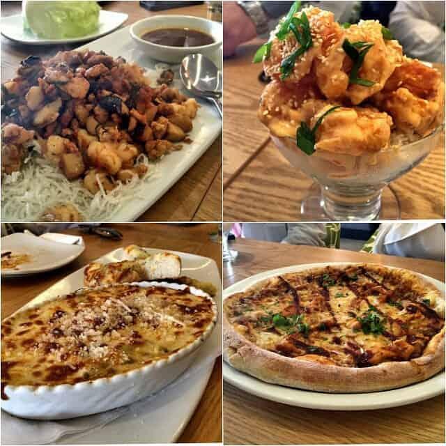 مطعم بيتزا كاليفورنيا كتشن الرياض