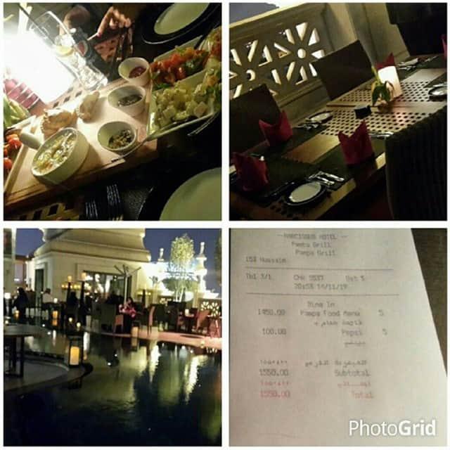 مطعم بامبا جريل الرياض