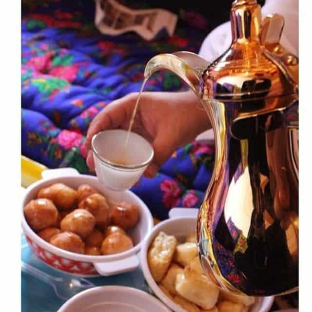 كافية ومطعم حليب وهيل الرياض