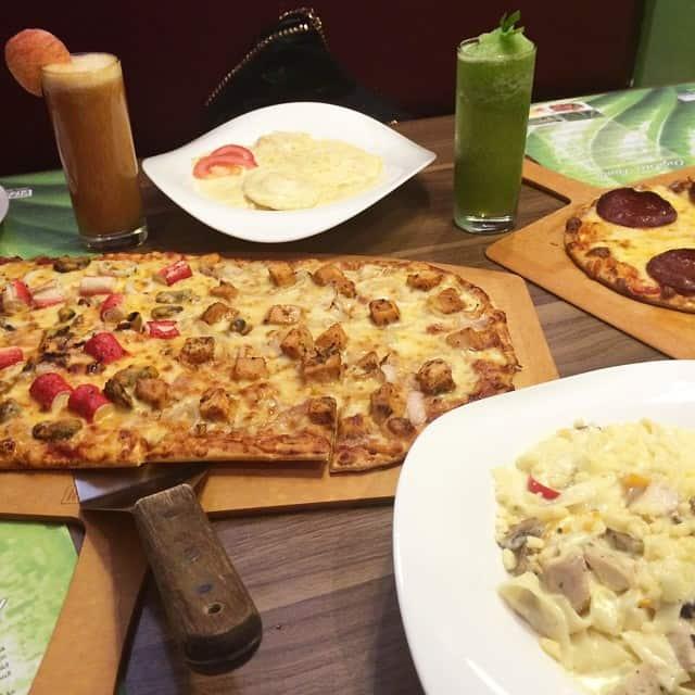 مطعم بيتزا فيوجن الرياض