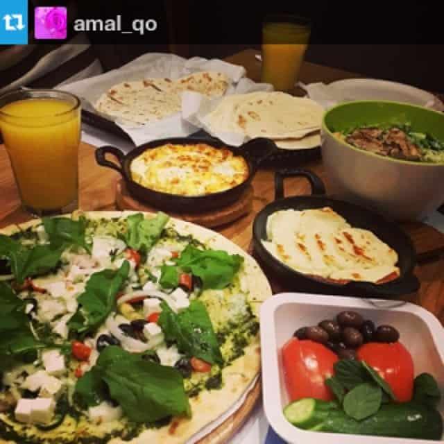 مطعم زعتر وزيت الرياض
