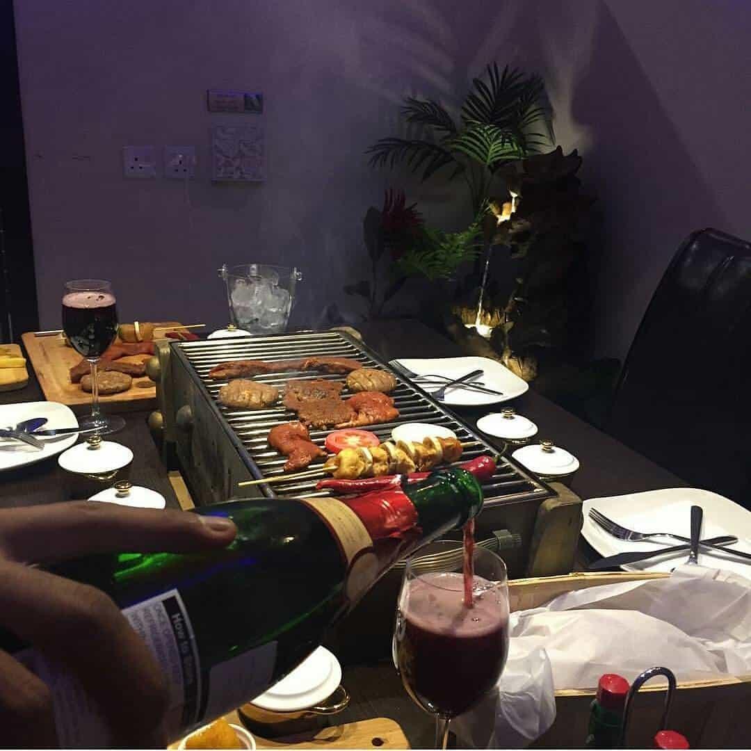 مطعم جلسة شواء الرياض