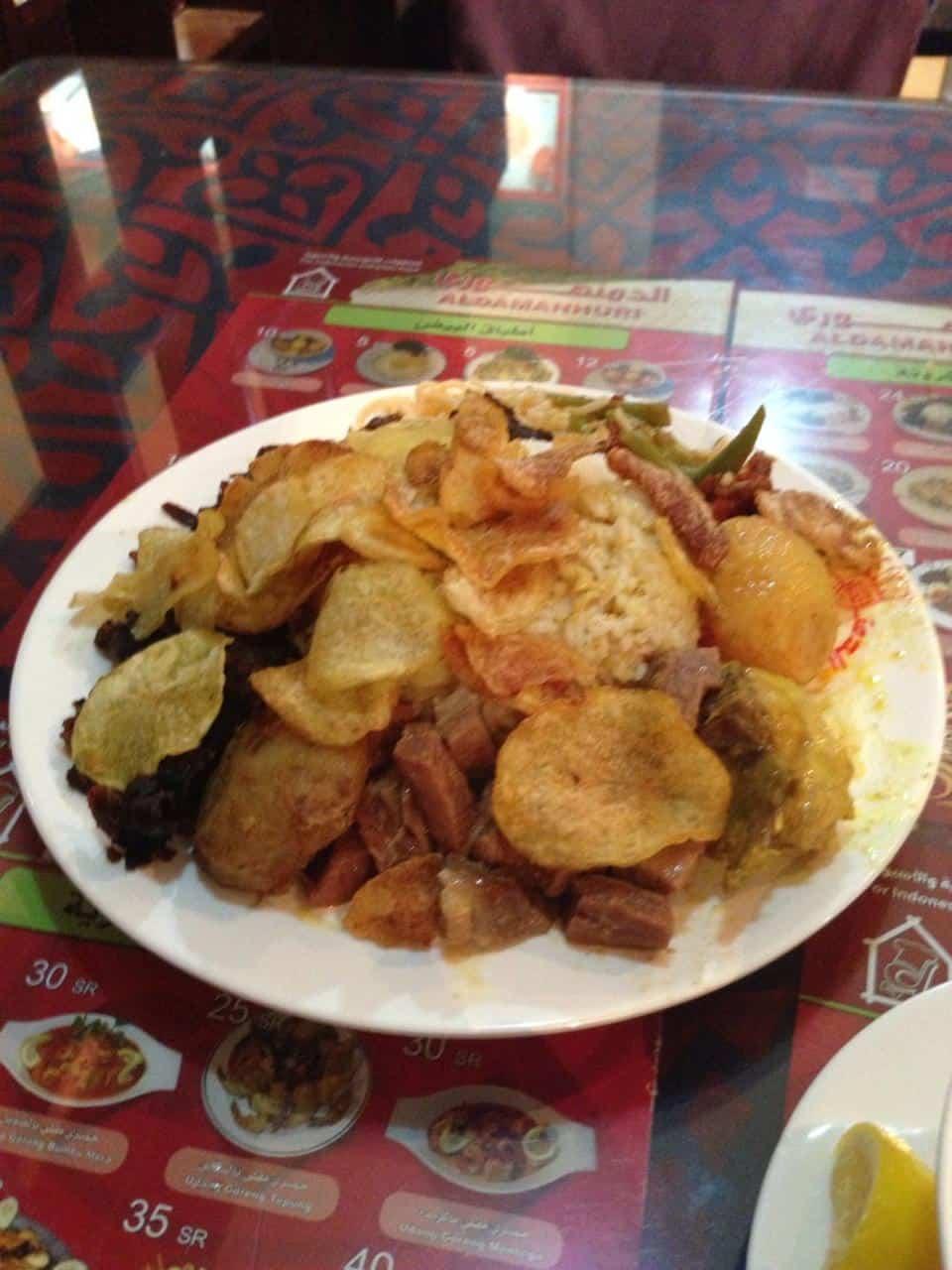 مطعم دمنهوري مكة المكرمة