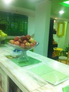 عصائر نبع التفاح الأخضر