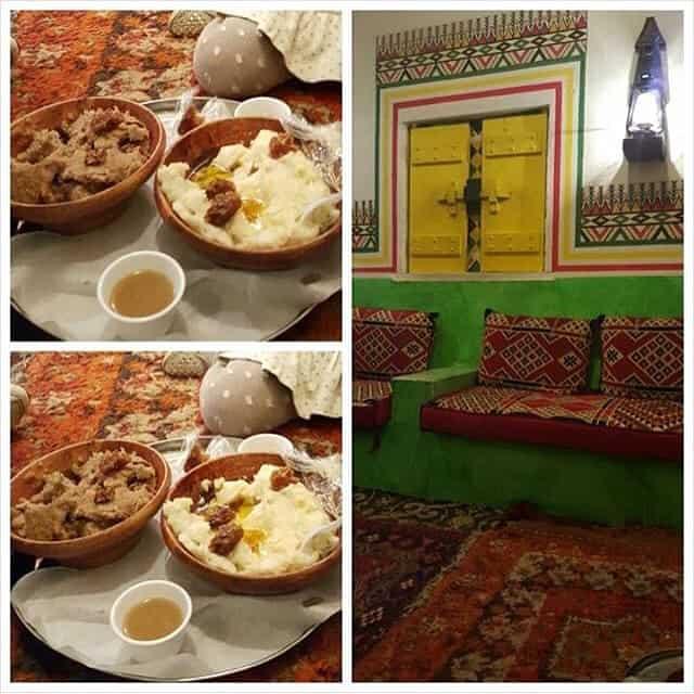مطعم قرية بن حمسان أبها والخميس
