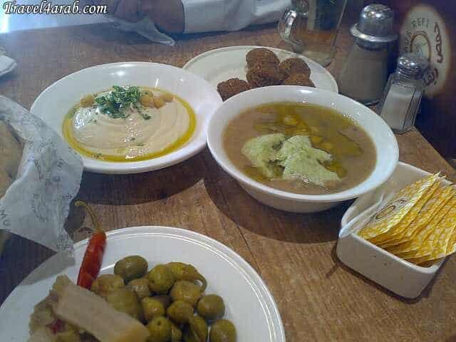 مطعم حمص ريفي المدينة المنورة