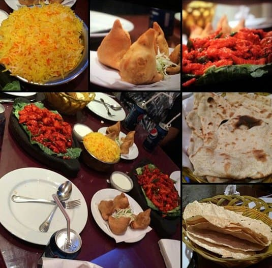 مطعم التاج الهندي