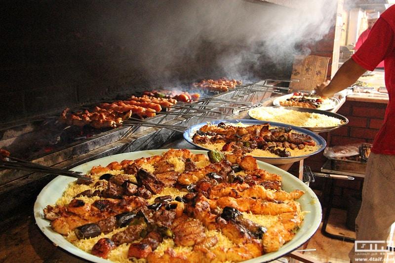 اروع مطاعم مشويات في الطائف