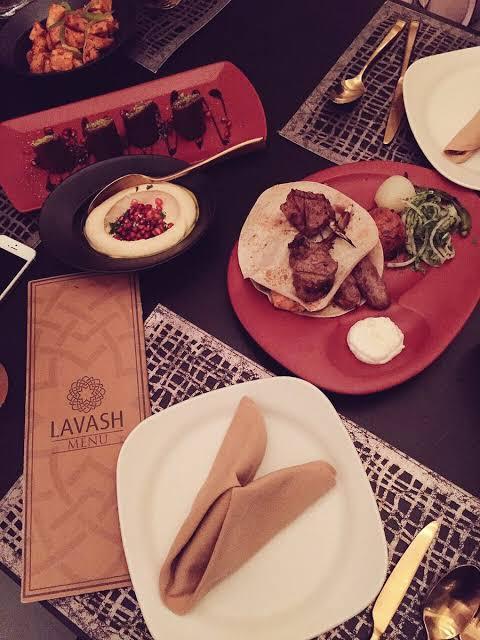 مطعم لافاش الأرمني في الرياض