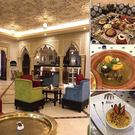 مطعم مينار المغربي في الرياض
