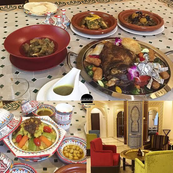اطباق مطعم مينار المغربي