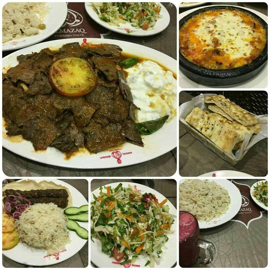 مطعم المذاق التركي في جدة