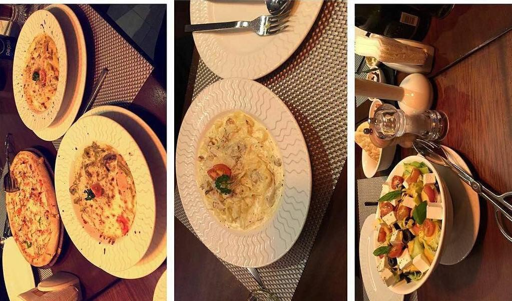 مطعم المطبخ الايطالي في جدة