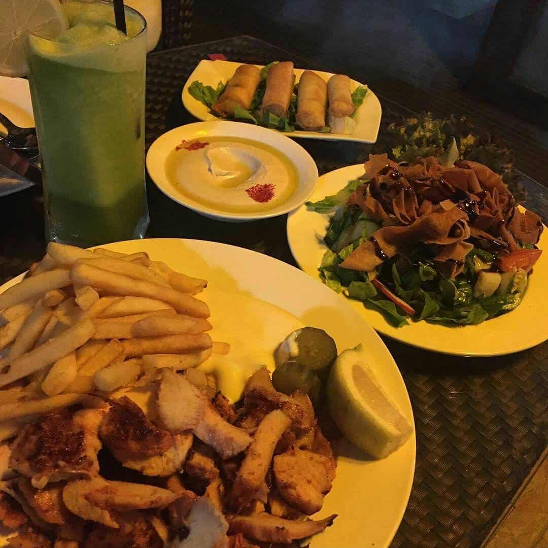 مطعم الضيعة اللبناني جدة الاسعار المنيو الموقع افضل المطاعم السعودية