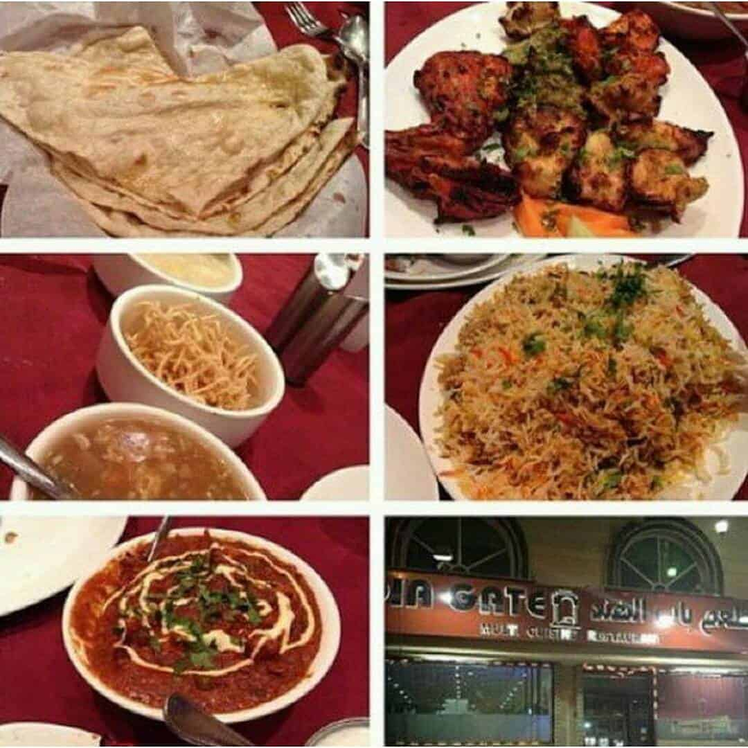 مطعم باب الهند جدة الاسعار المنيو الموقع افضل المطاعم السعودية