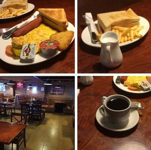 مطعم الركن الأمريكي في جدة