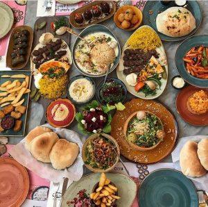 مطعم بيت مسك اللبناني