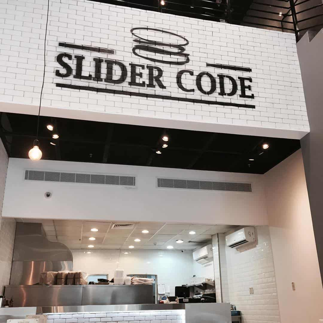 مطعم سلايدر كود في الدمام