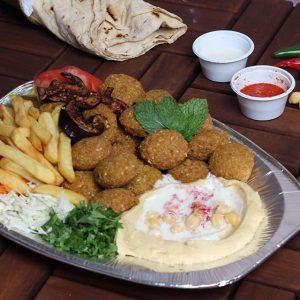 مطعم فلافل قسمة الشام