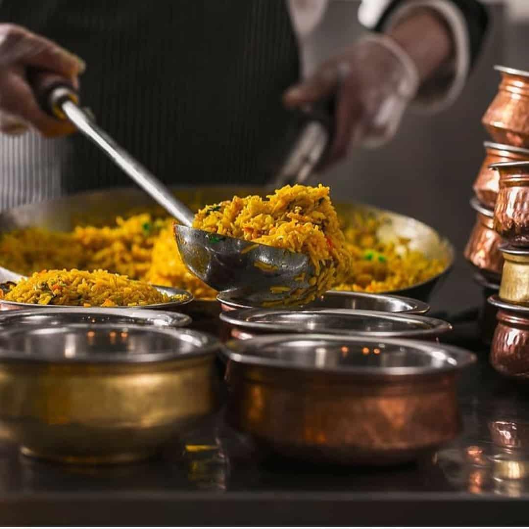 مطعم قصر الهند في الخميس