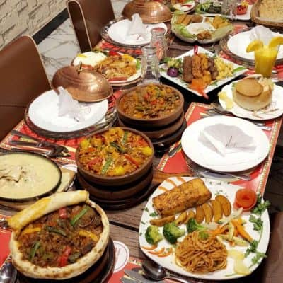 مطعم البيت التركي في الخميس