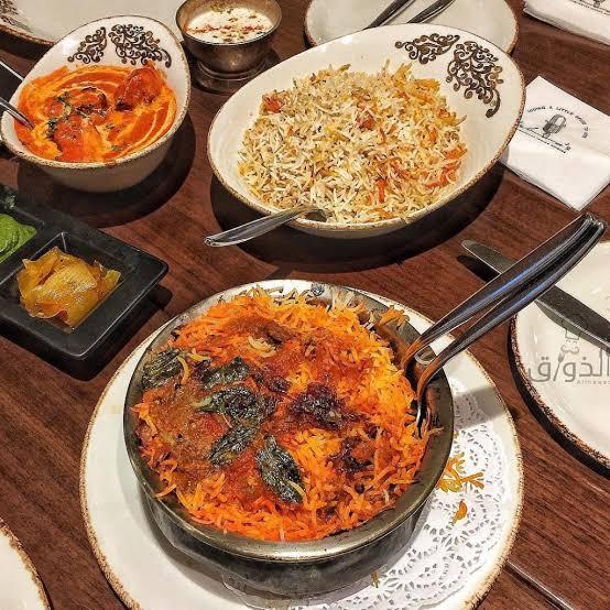 اطباق مطعم أشاز في الرياض