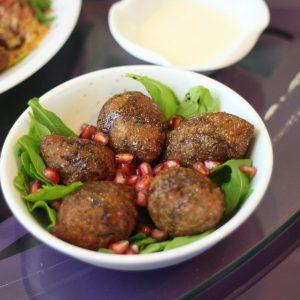 الأكل النباتي في بلومينج كافييه
