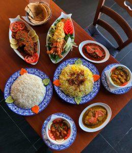 سفرة مطعم أهل الشرقية