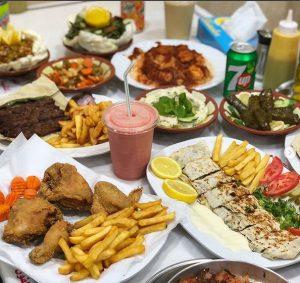 سفرة مطعم الديك الرومي