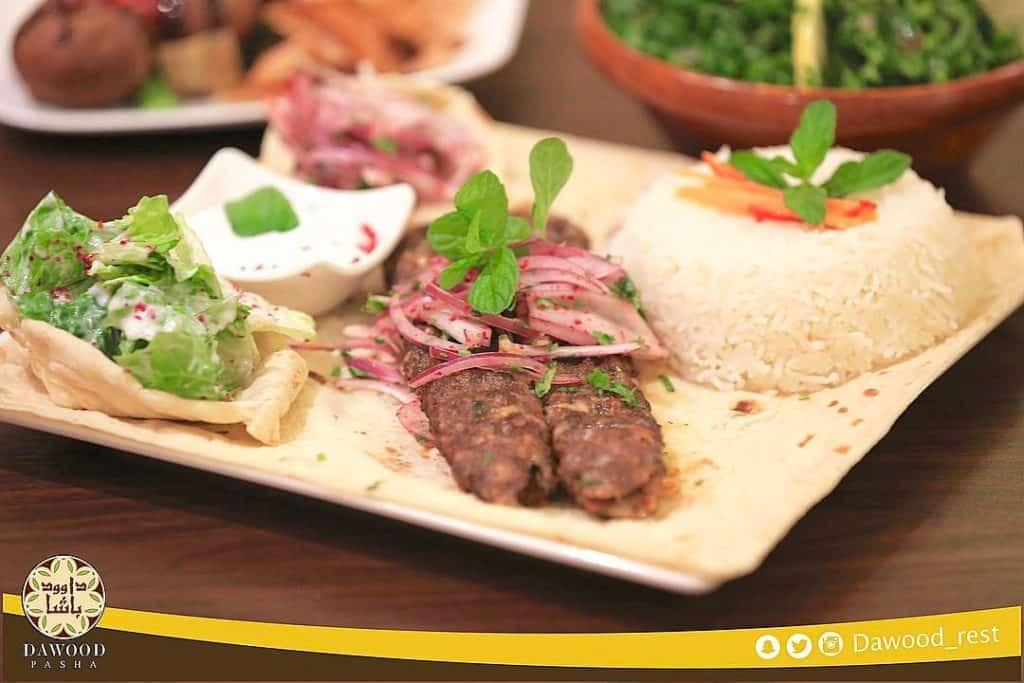 مطعم داوود باشا في القصيم