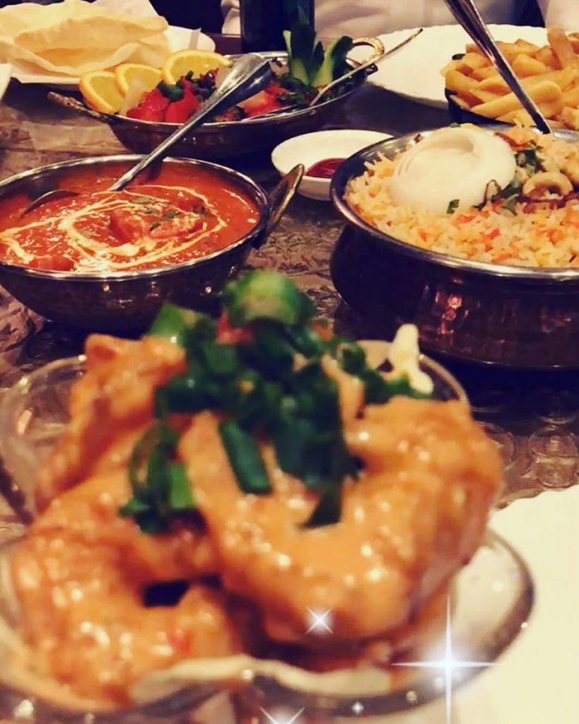 مطعم تاج محل في تبوك