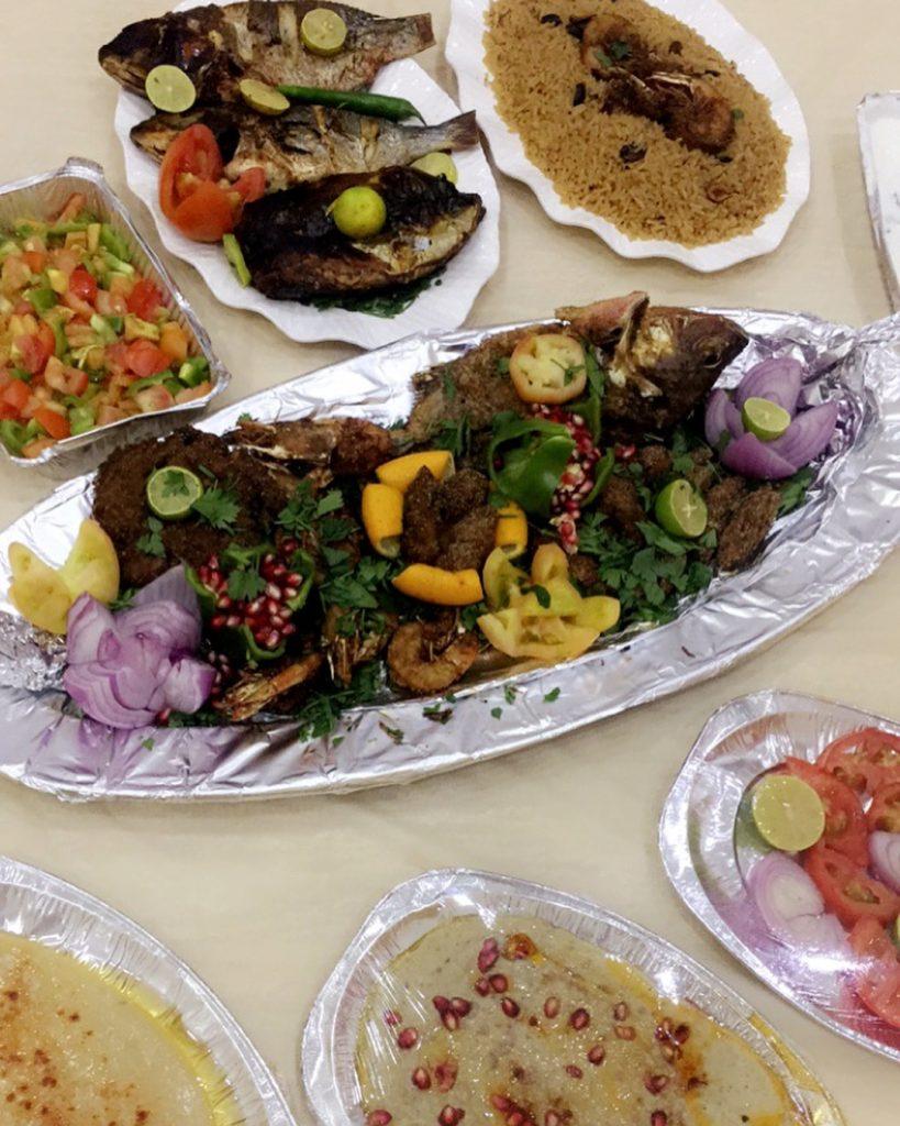 مطعم حلم البحر في تبوك