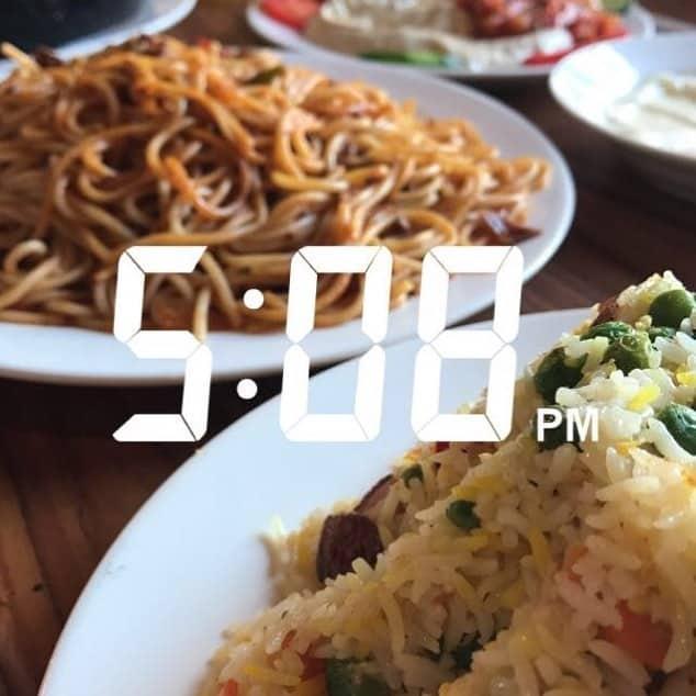 مطعم الضيافه السعيدة