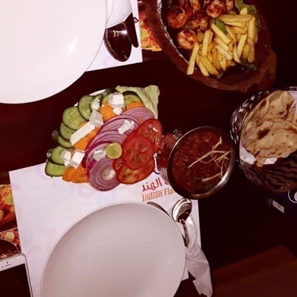 مطعم نكهه الهند