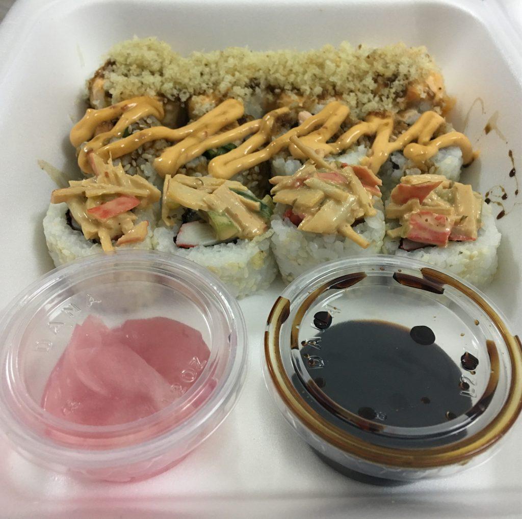 مطعم سوشي