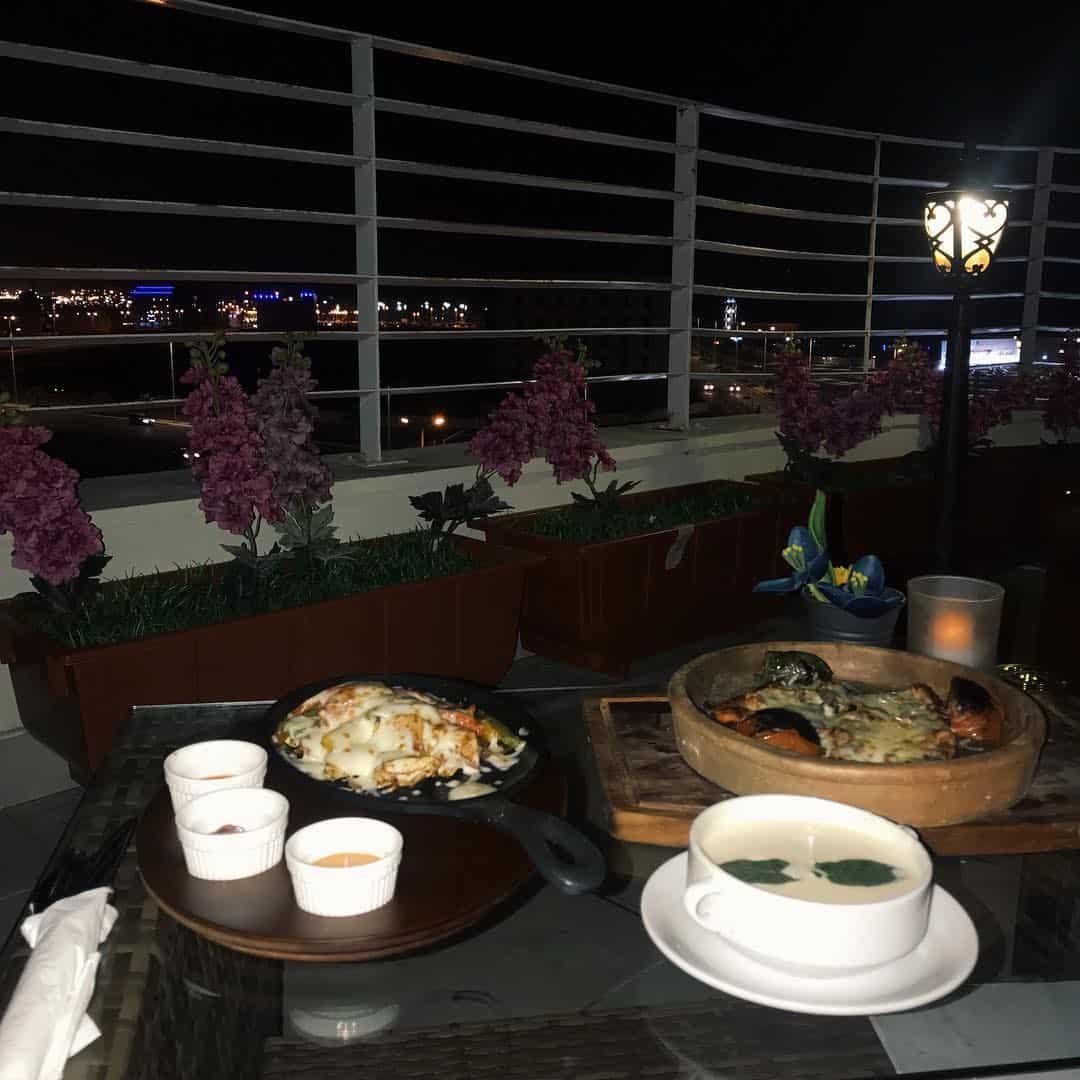 مطعم فيو لاونج