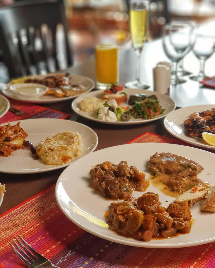 مطعم بوفيه الانتر