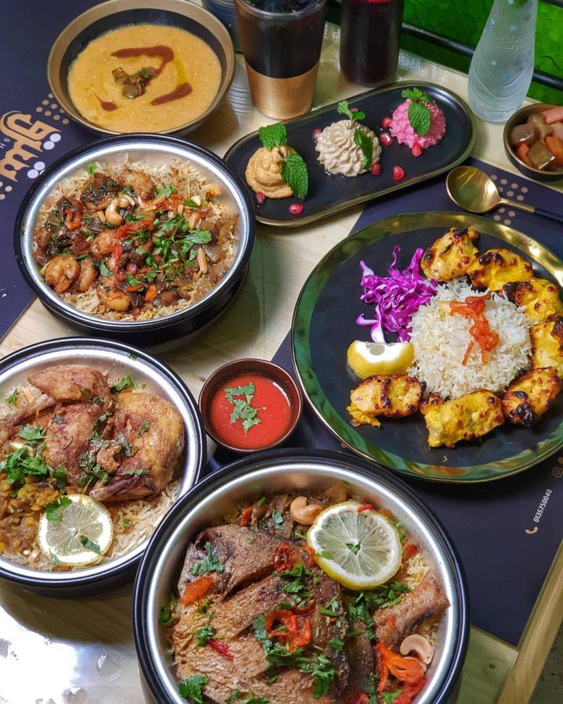 مطعم شرق الكويتي