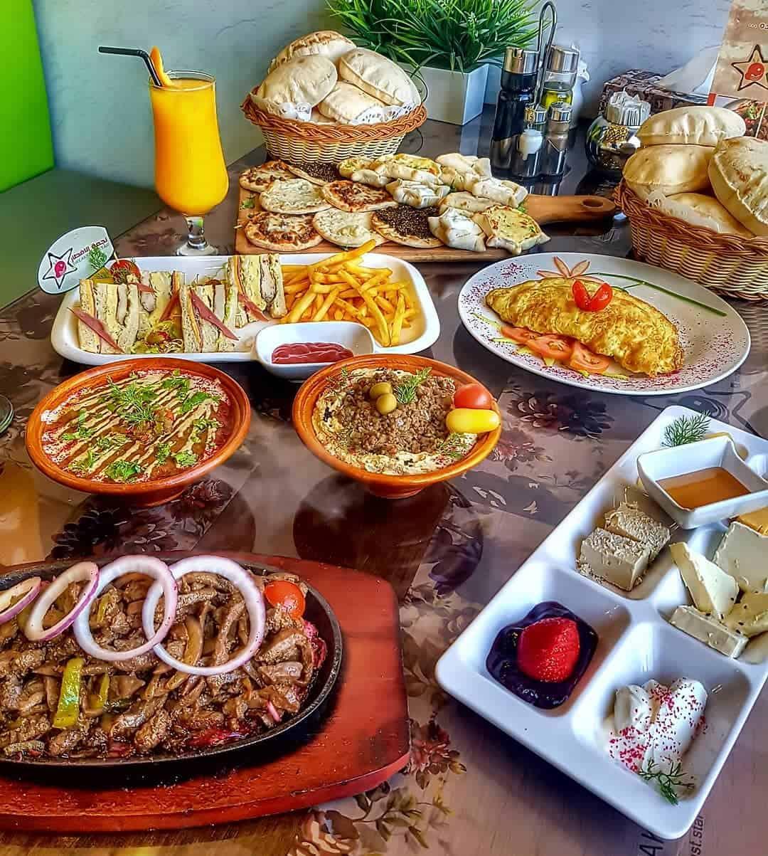 مطعم نجمة الإفطار Breakfast Star الأسعار المنيو الموقع افضل المطاعم السعودية