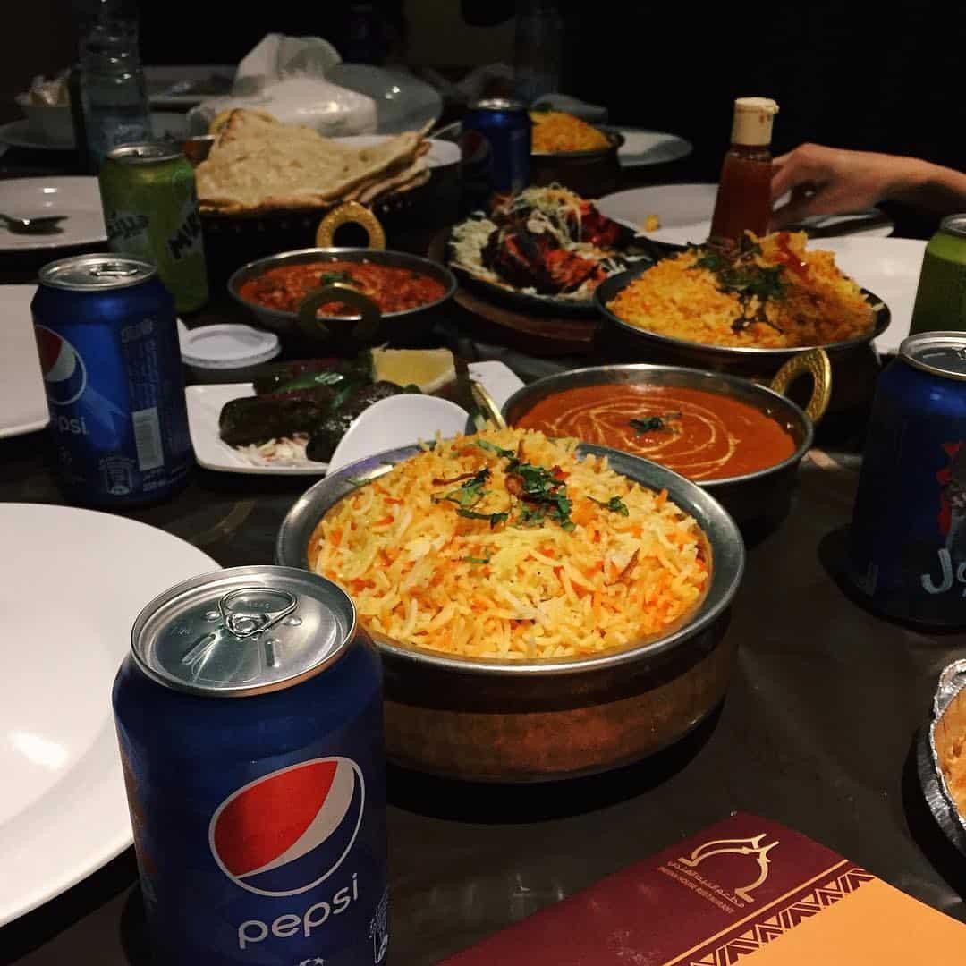 مطعم البيت الهندي