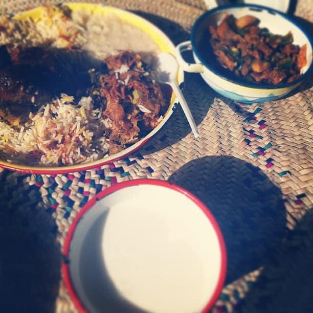 مطعم القرية النجدية في الرياض