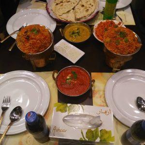 مطعم حضارة الهند في تبوك