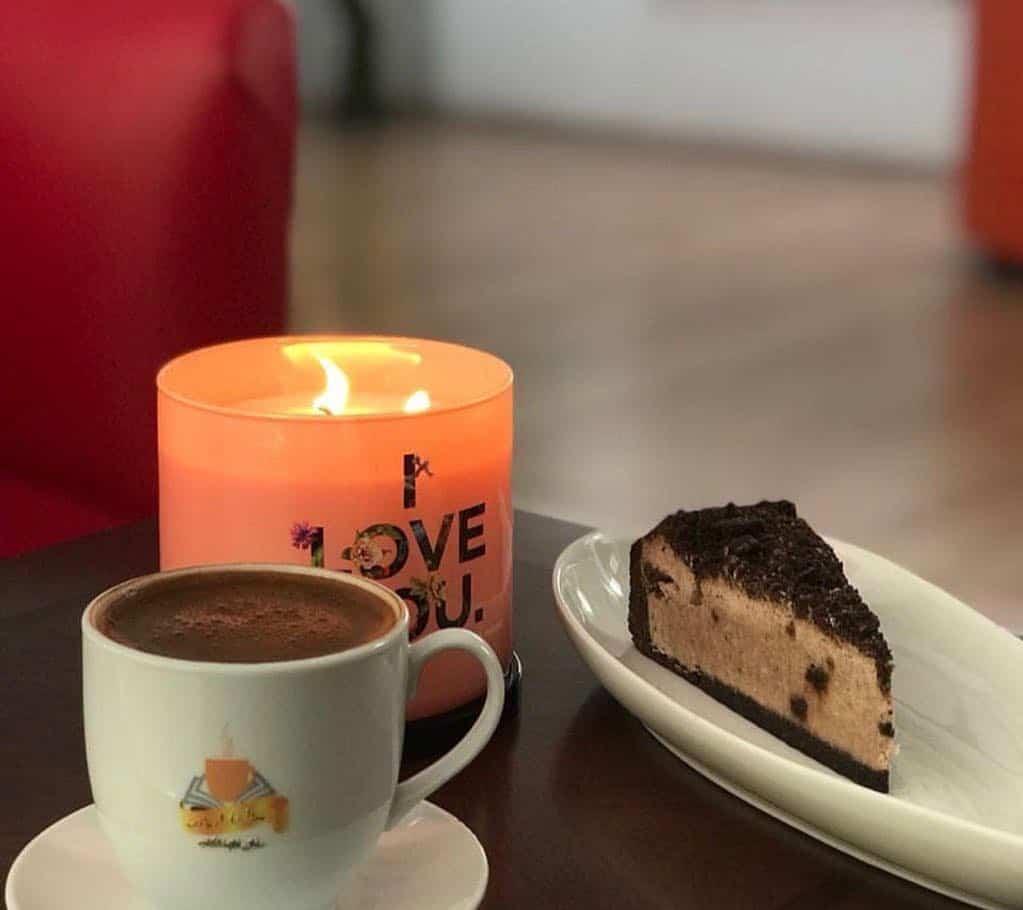مقهى قهوة الكتاب في تبوك