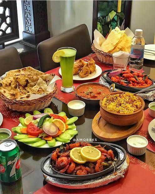 اطباق مطعم الريف الهندي