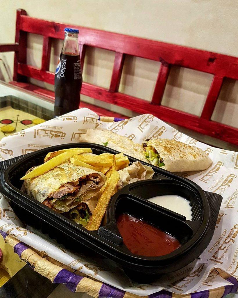 مطعم شاورما الدكه